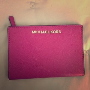 New Pink wallet